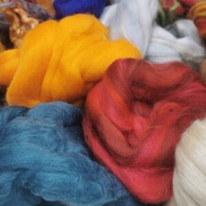 Fibres for Felting and Spinning